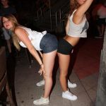 Two British Girls Dancing and Teasing
