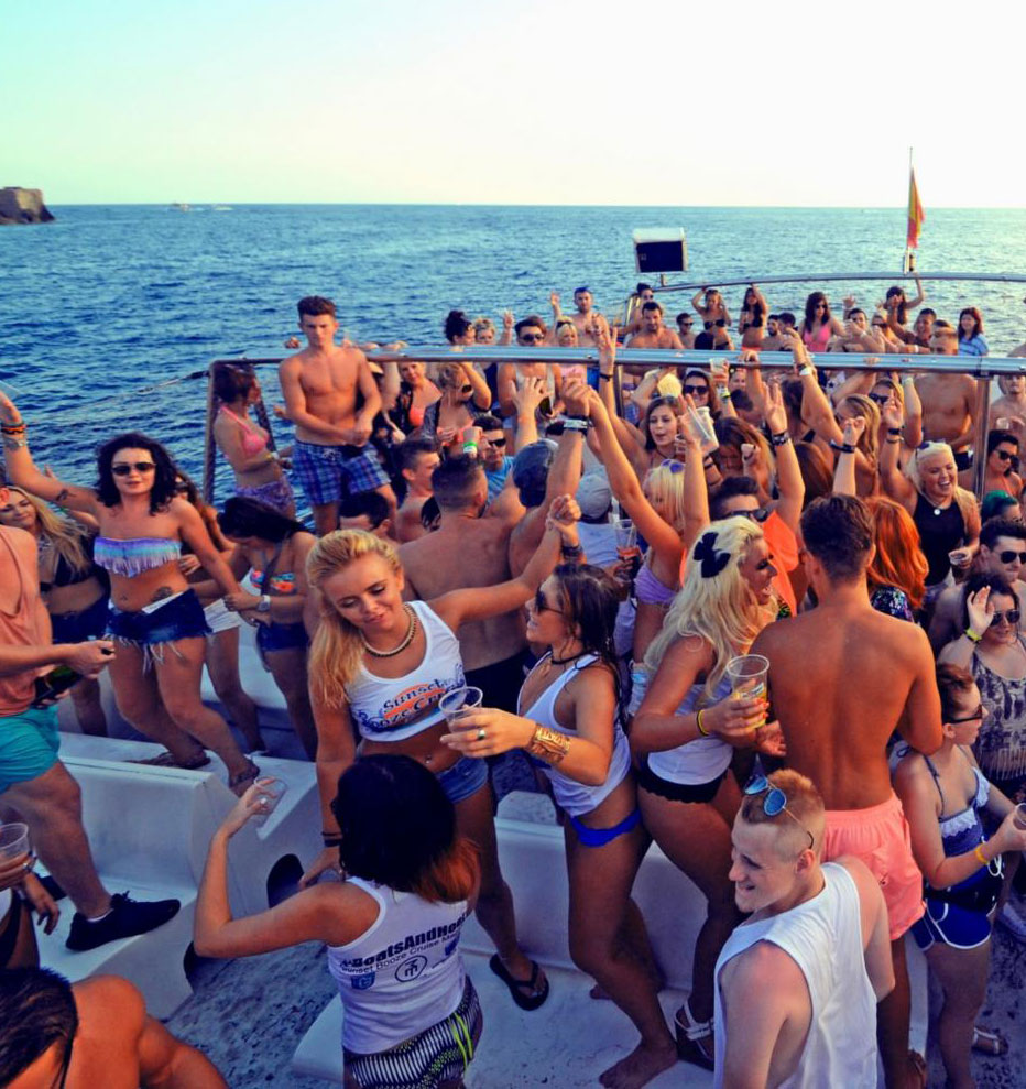 Wild Boat Party with Real British Girls